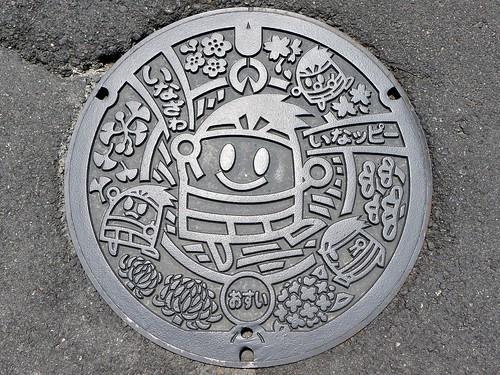 Inazawa Aichi, manhole cover 7 (愛知県稲沢市のマンホール7)