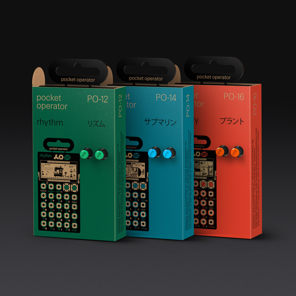 Teenage Engineering x Cheap Monday - Pocket Operator Packaging