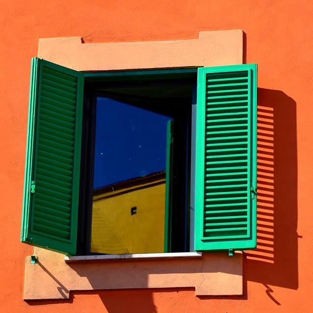 La ventana...