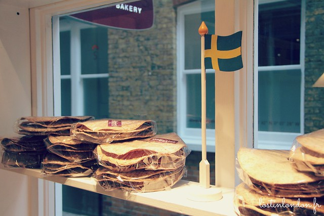 Bakeriet London Swedish bakery