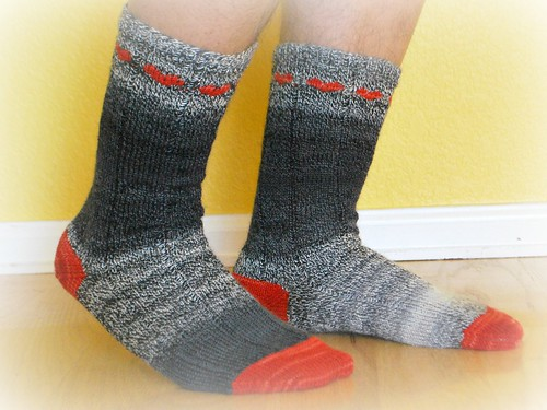 modelled secret socks