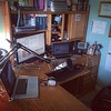 My recording setup at home. New mic is in!