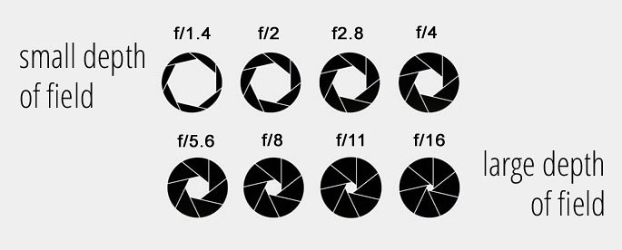 Photography aperture explained: f-stops and depth of field