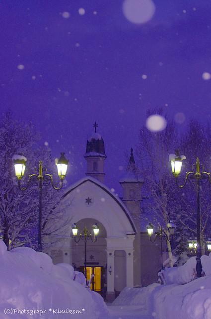 雪の美術館7