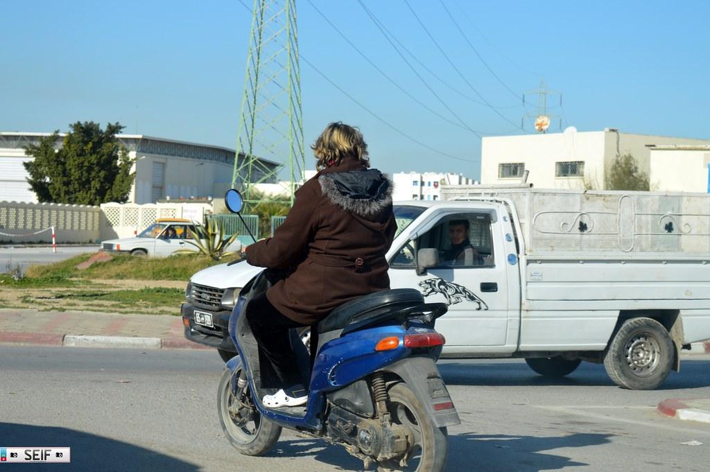 Scooter Tunisia 2015