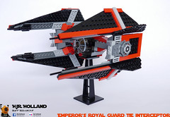 Emperors Royal Guard TIE interceptor 03