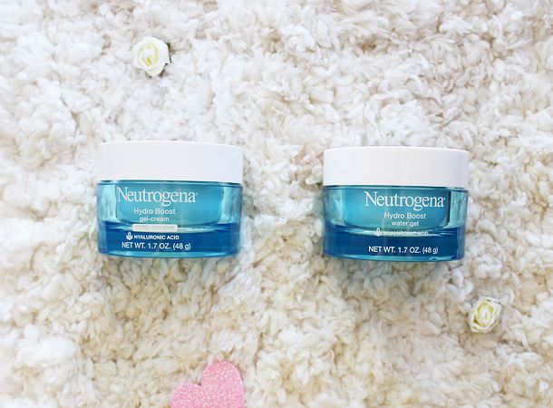 neutrogena hydro boost gel cream moisturizer review vs comparison clinique dramatically different garnier moisture rescue drugstore skincare