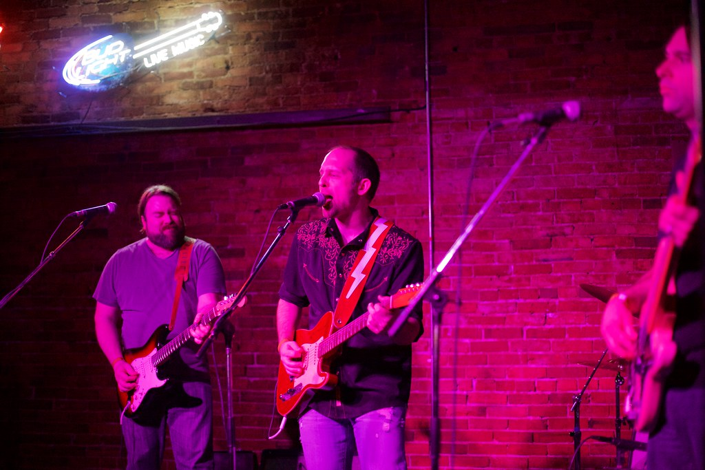 The Allendales at Duffy's Tavern for Lincoln Exposed   Feb. 7, 2015
