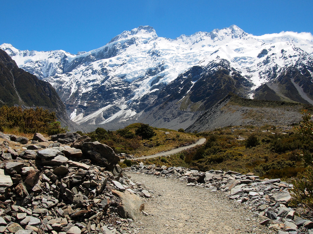 Hooker Valley Track at Mount Cook