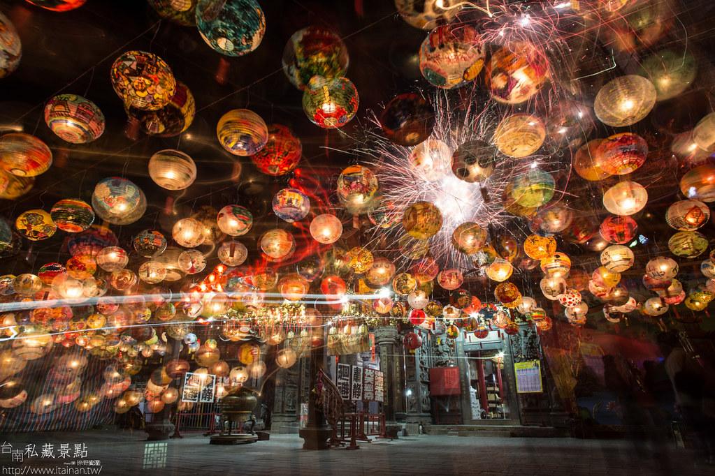 台南私藏景點-普濟殿燈會 (8)