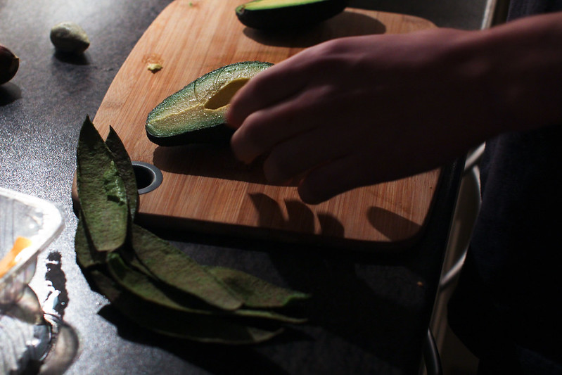 Kylling og avokadosalat