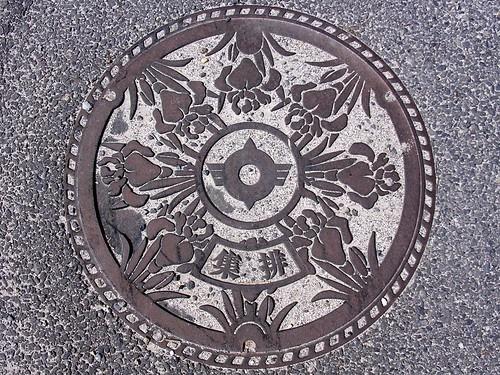 Chuzu Shiga, manhole cover (滋賀県中主町のマンホール)