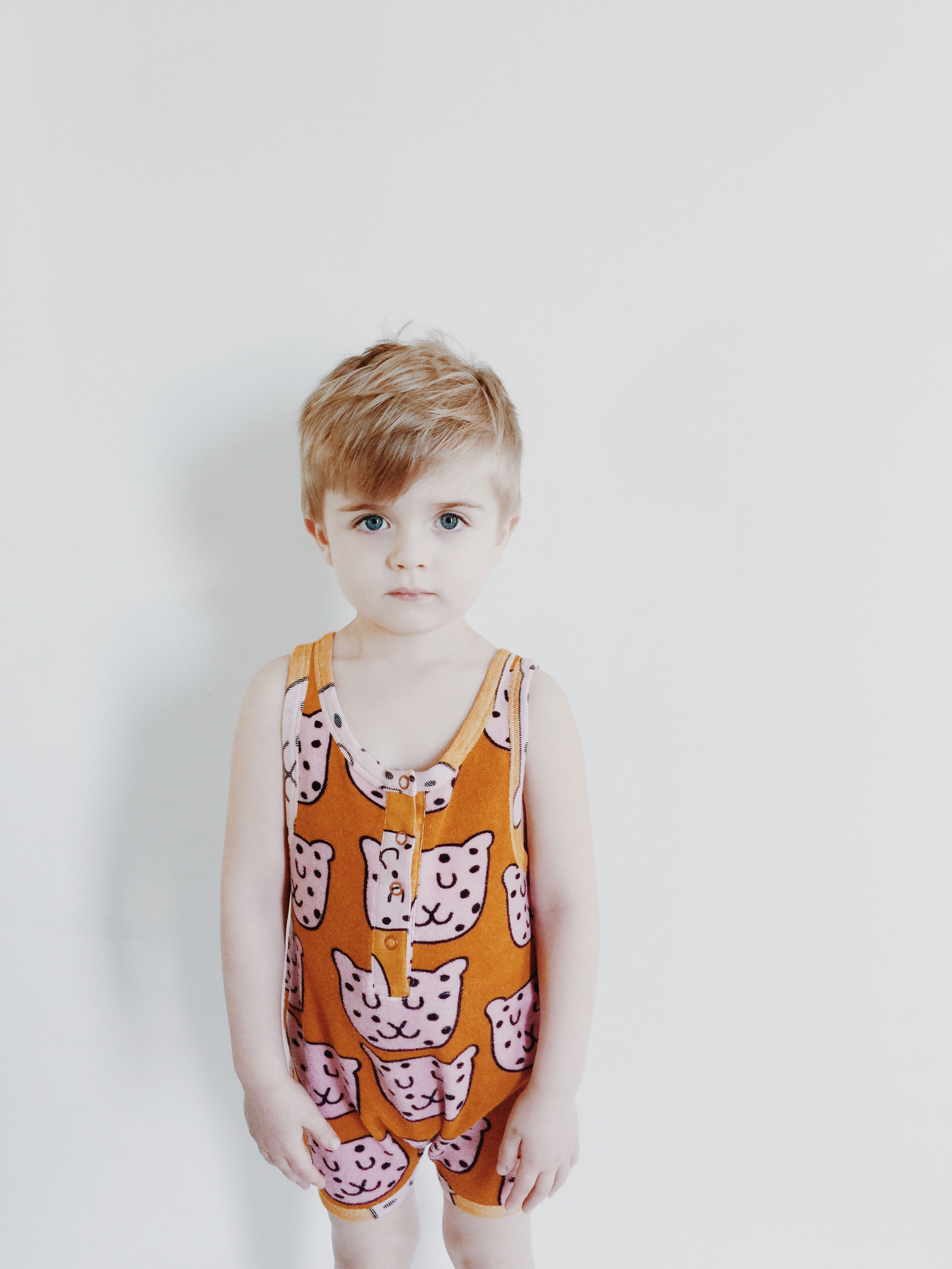 Hugo Loves Tiki SS16 Leopard terry Playsuit Hugo