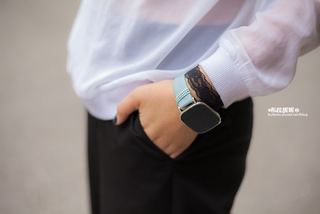 【3C.智慧手錶】我的手錶是精品,也是生活管家!ASUS ZenWatch 2(小錶) 快充進化版 -真皮晶鑽藍(施華洛世奇水晶)