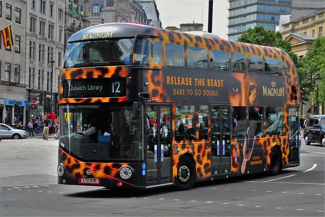 TFL Routemaster. LTZ1436