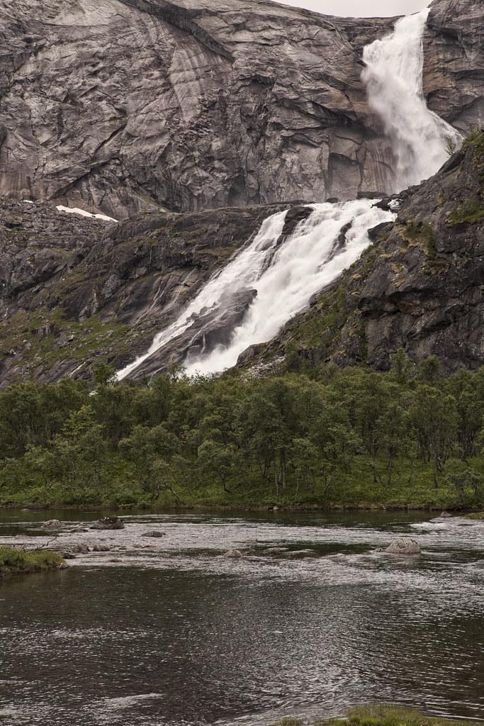 Hike Kinsarvik Husedalen, til alle fire fossar.  Søtefossen ca 800 moh. Kinsarvik, Hardanger