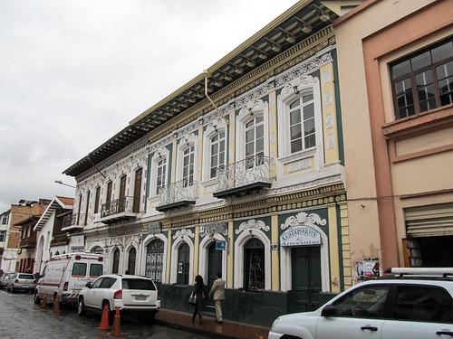 Cuenca et ses bâtiments coloniaux