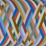 Charlie DiJulio - Fibonacci Series with Variations; acrylic on canvas; 1975; 82 x 67.5