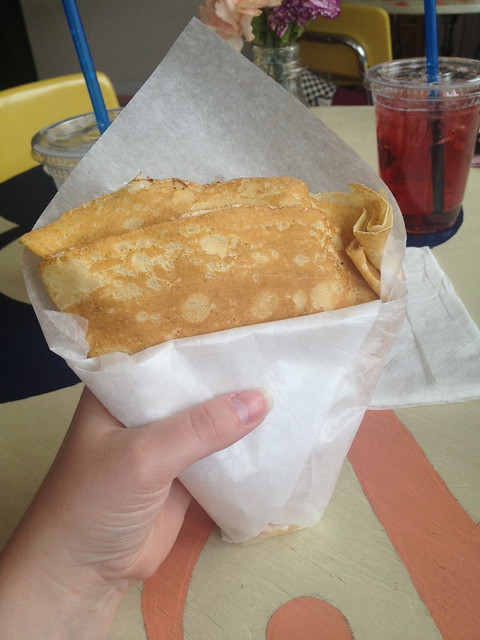 Crepe from the Crepery