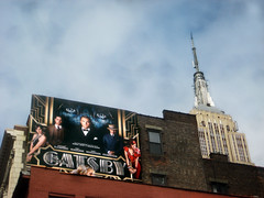 The Great Gatsby Film Billboard Poster Near Empire State Building 9480