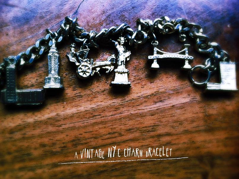 nyc charm bracelet