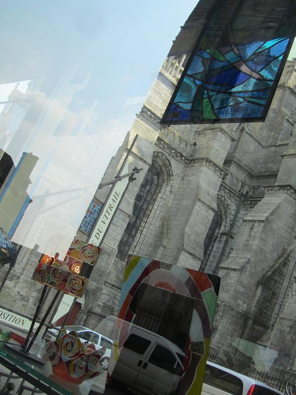 Vidrieros de Chartres