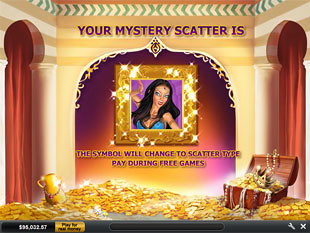 free Sultan's Gold Free Spins Feature