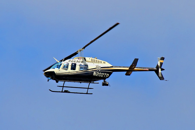 N202TP Tulsa Police Department Helicopter