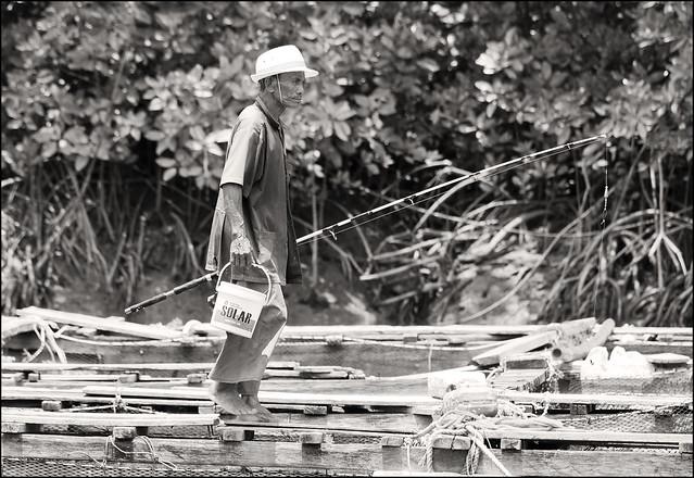 Fisherman at Bang Rong in the Northeast of Phuket