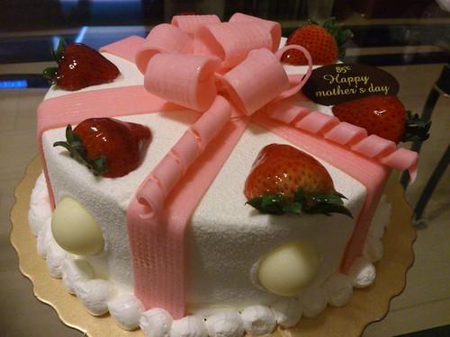 85度C買的母親節蛋糕