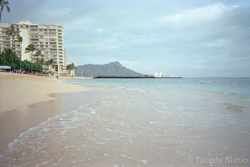 人の少ないビーチ / Sparsely people beach