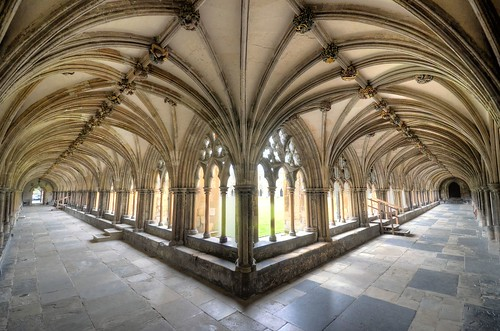 Norwich Cathedral - Cloisters