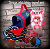 Mini Strayz kitty and travel set