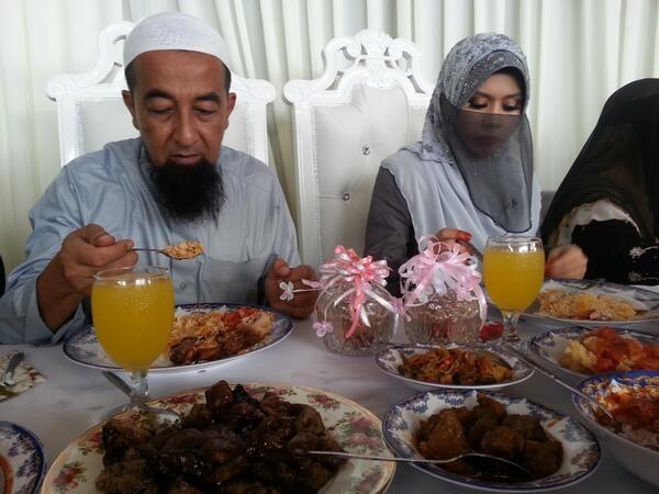 Gambar Ustaz Azhar Idrus Nikah Isteri Ketiga