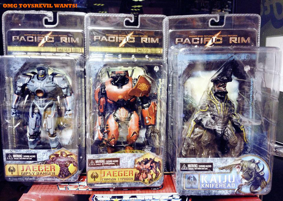pacific rim toys from neca