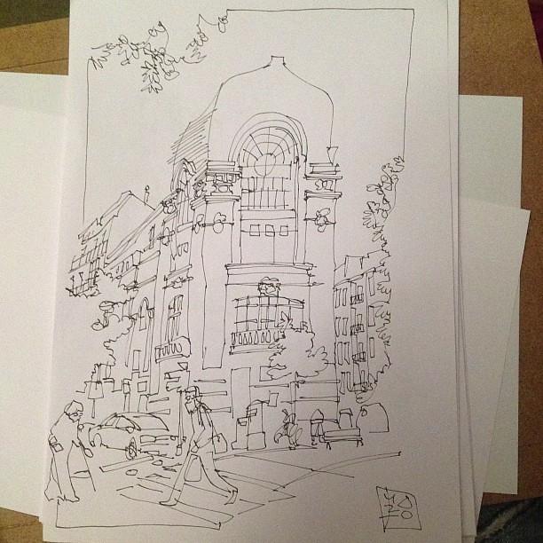 Donosti sketch 02