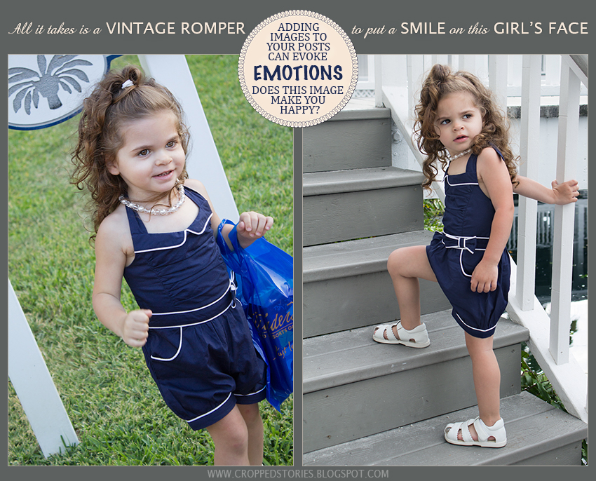 TODDLER IN VINTAGE ROMPER
