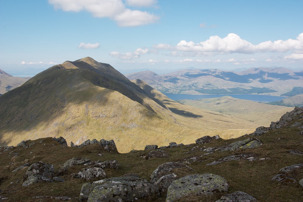 Beinn a' Chochuill and Loch Etive