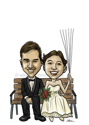 digital wedding caricatures 20062013