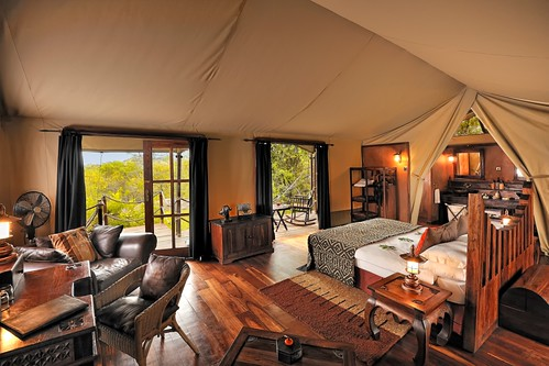 Glamping in Africa: Elewana Collection in Tanzania and Kenya.