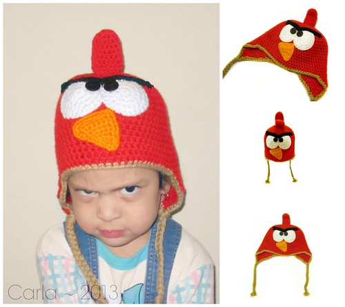 Angry Bird Hat