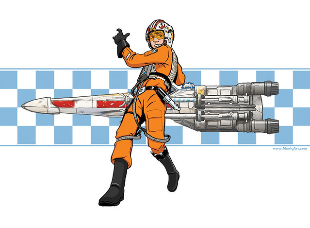Luke Racer Tee!