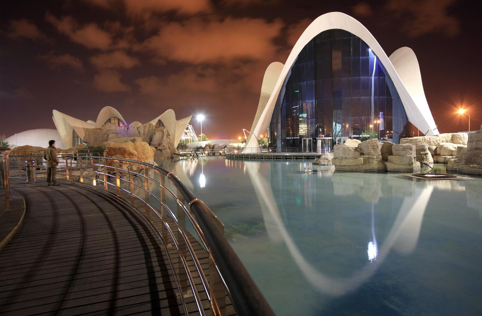 Oceanogràfic de Valencia. Autor, Ciudad de las Artes y las Ciencias