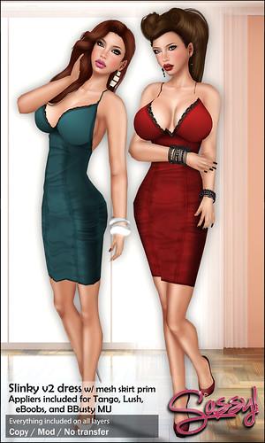 Slinky v2 dress