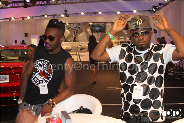 Jay Foley caught up with R2Bees and Ice Prince at BET Awards 2013 (9)