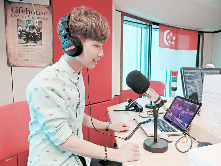 typicalben at radio station