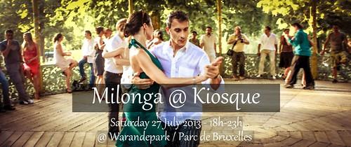 Milonga @ Kiosque - 27 July
