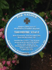 Photo of Theodore Veale blue plaque