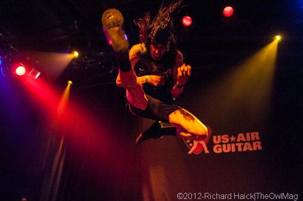 Air Guitar Western Semifinals