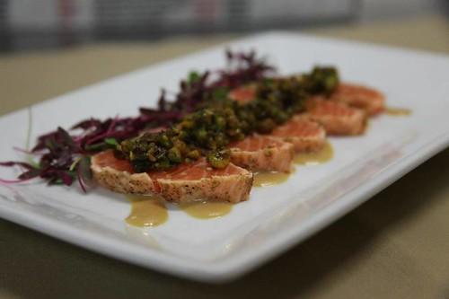 pistachi salmon